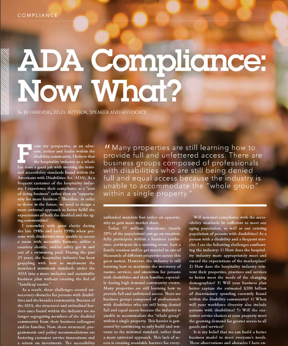 ADA Compliance article