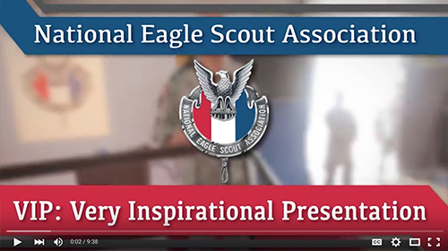 National Eagle Scout Association video cover