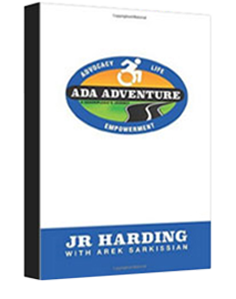 JR Harding ADA Adventure book