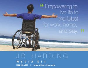 JR Harding media kit cover
