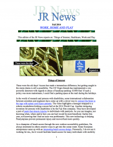 JR Newsletter